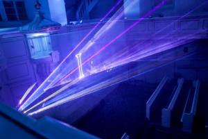 Spektakl laserowy