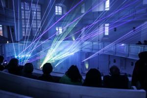 Spektakl laserowy na 500 lat Reformacji
